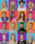CBS Big Brother Cast